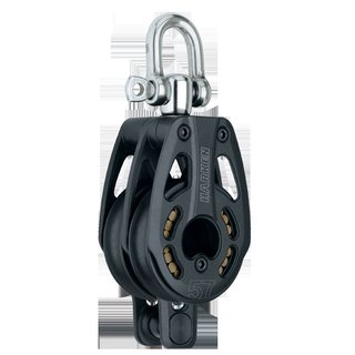 Harken Black Magic 2-fach mit Wirbel und Hundsfott in HiLoad