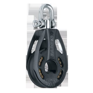 Harken Black Magic 1-fach mit Wirbel